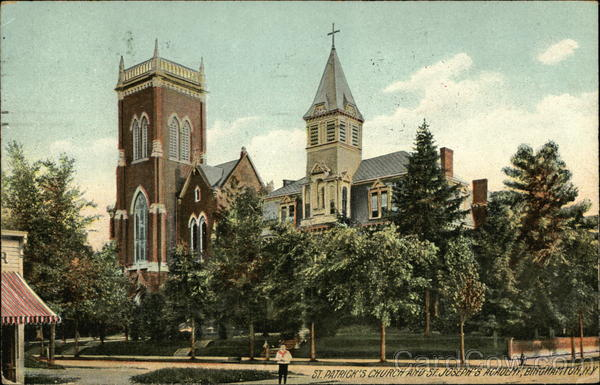 St. Patrick's Church and St. Joseph's Academy Binghamton, NY
