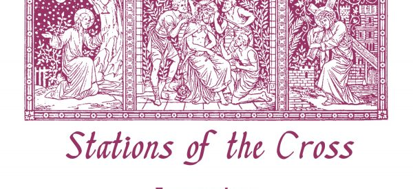 Private prayer & refelction on Stations of the Cross encouraged