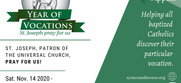 Official Prayer for the Year of Vocations