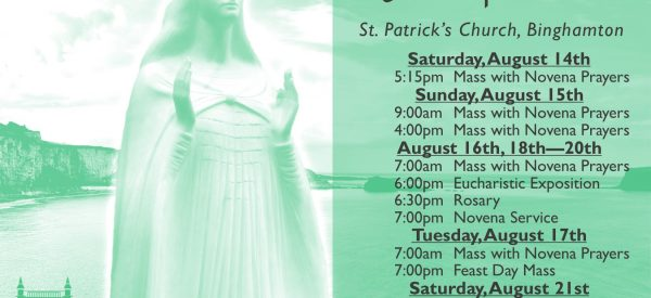 Annual Novena to Our Lady of Knock