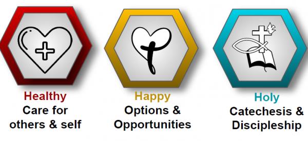 Healthy! Happy! Holy! ~ Faith Formation 2021-2022